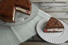 Layer Cake chocolat framboises Cake Chocolat, Tiramisu, Pie, Ethnic Recipes, Desserts, Food, Raspberry Chocolate, Raspberries, Horse