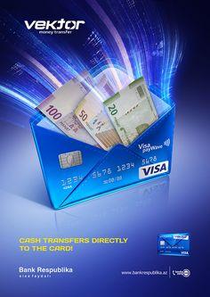 "Bank Respublika ""Vektor"" Keyvisual on Behance"