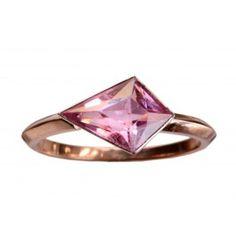 EB Pink Tourmaline 14k Rose Gold Ring.......