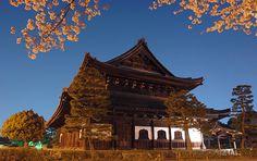 Tempio Buddista con giardino zen kare-sansui. Ai margini di Gion, sotto Hanami-kouji