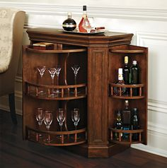 Would It Totally Your Mind If We Said Both The Drummond Swivel Wine Cabinet Makes An Excellent Father S Day Gift