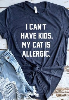 Excited to share the latest addition to my shop: Funny Cat Shirt, Crazy Cat Lady, Cat Lover Gift, Cat Shirts, Cant Crazy Cat Lady, Crazy Cats, Funny Shirt Sayings, Funny Shirts, Shirts For Cats, Quote Shirts, Funny Quotes, Look T Shirt, Dog Shirt