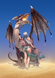 Daenerys Targaryen, Mother of Dragons by Chris Wahl #GoT