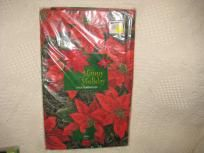 "HOLIDAY TABLECLOTH 60"" ROUND"