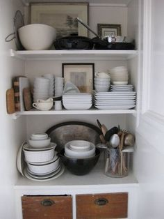 I love the idea of pictures with the dishes.