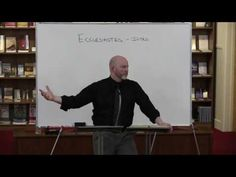 Ecclesiastes Introduction - YouTube