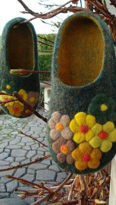 felted...love these!!!