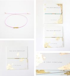 Loooove this girl's jewelry & packaging. And she's from PHX!