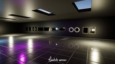 Realistic Mirrors by Gesta2 in Props - UE4 Marketplace