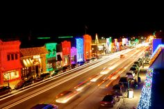 Christmas in downtown Rochester, Michigan