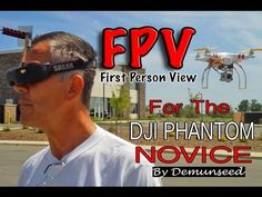 How To Fly FPV - DJI Phantom Quad Copter Multi Rotor Drone UAV - http://bestdronestobuy.com/how-to-fly-fpv-dji-phantom-quad-copter-multi-rotor-drone-uav/