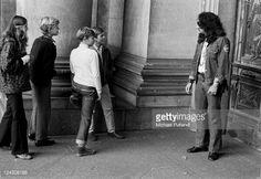 Mick Box of Uriah Heep, on a German tour, September 1971.