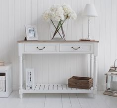 Narrow White Console Table clever hallway storage | consoles, tables and narrow console table
