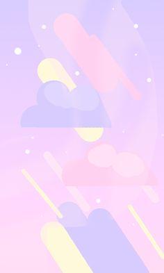 Nyoom Cute Pastel Wallpaper, Cute Patterns Wallpaper, Purple Wallpaper, Scenery Wallpaper, Aesthetic Pastel Wallpaper, Kawaii Wallpaper, Tumblr Wallpaper, Wallpaper Iphone Cute, Galaxy Wallpaper