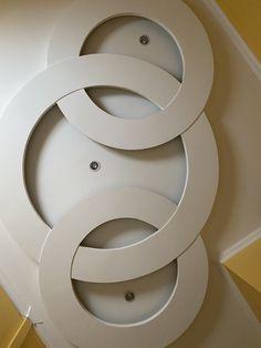 Interior Ceiling Design, Pop Ceiling Design, Bedroom False Ceiling Design, Pop Design, Floor Design, Home Stairs Design, House Design, Plafond Staff, Roof Ceiling