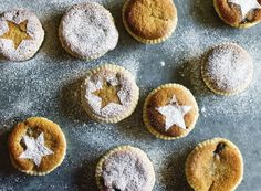 Perfect Mince Pies ~ short pastry base, mincemeat filling, and soft frangipane tops | from the book 'Great British Bake Off: Christmas' | via House Beautiful