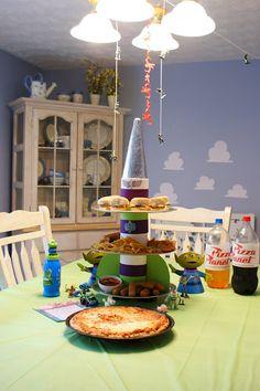 Disney/Pixar Toy Story Themed Movie Night