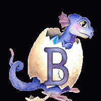 dragon alphabet animated gif drache photo: Dragon Drache egg Ei animated alphabet gif baby bebe