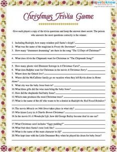 Free Christmas Printables for Plays, Crafts, Coloring, and More! Christmas Trivia Games, Xmas Games, Holiday Games, Christmas Activities, Christmas Printables, Christmas Projects, Christmas Traditions, Holiday Fun, Christmas Recipes