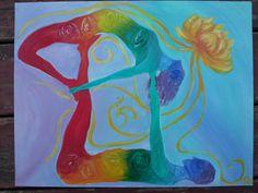 Partner Yoga with Chakras