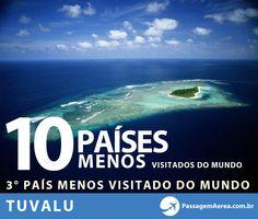 10 países menos visitados do mundo #tuvalu #viagem #passagemaerea  http://www.passagemaerea.com.br/paises-menos-visitados-mundo.html