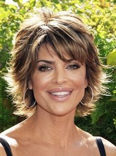 short hairstyles for middle aged women with fine hair - Great Haircuts for Middle Aged Women, Very Layered Bob W Bangs Haircut Light Golden Brown Regarding Unique Haircuts for Middle Aged Women Short Hair Cuts For Round Faces, Thin Hair Styles For Women, Short Hair With Layers, Natural Hair Styles, Long Hair Styles, Short Hair For Round Face Plus Size, Short Wavy, Bob Hairstyles For Round Face, Prom Hairstyles For Short Hair
