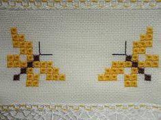 ponto ilhos graficos - Pesquisa Google Hardanger Embroidery, Ribbon Embroidery, Cross Stitch Patterns, Knitting Patterns, Chicken Scratch, Thread Art, Filet Crochet, Textile Art, Blackwork