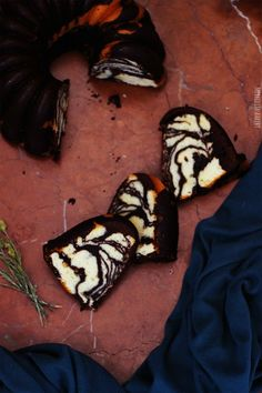 Merceditas Bakery: Bundt cake de chocolate - moka y vainilla