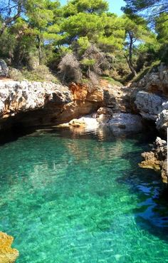 Looking for private moments ? - #Alonissos #YachtcharterGriechenland #YachtcharterSporaden