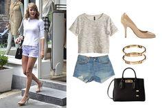 Tres looks de Taylor Swift para volver al pasado. ¡Retro y glam en un outfit!