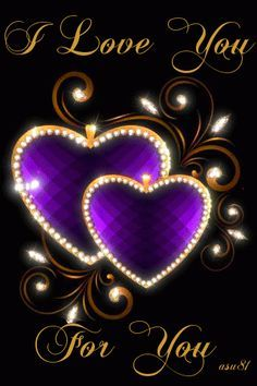 I Love You Pictures, Love You Gif, Love You Images, Heart Images, Hd Images, Purple Love, All Things Purple, Purple Hearts, Heart Wallpaper