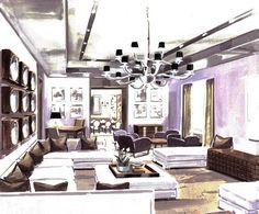 Interior floor plans/ Masaru Suzuki for Donghia
