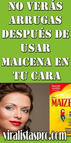 No verás arrugas después de usar maicena en tu cara - VIRALISTAS PRO Beauty Care, Beauty Hacks, Hair Beauty, Tips Belleza, Natural Medicine, Healthy Skin, Home Remedies, Mascara, Meal Planning