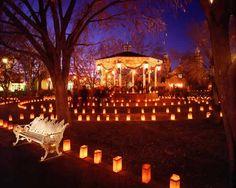 Old Town at Christmas - Albuquerque