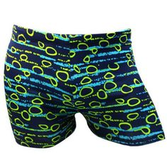 Round Printed Men's Sport Swimming Trunks #jewelry, #women, #men, #hats, #watches, #belts, #fashion