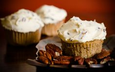 Bake Sale: Maple Pecan Cupcakes