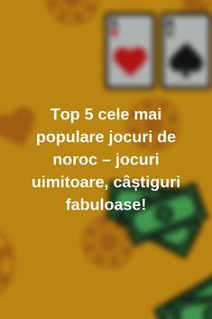 Descoperă cel mai bun top 5 cele mai populare jocuri de noroc🎲 din toate timpurile și află care sunt jocurile ca la aparate🎰 preferate ale românilor #casino #Romania #jocuri #jocuricalaaparate Noroc, Top 5, Mai, News, Blog, Blogging