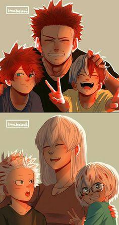 If Endeavor was a good father My Hero Academia Episodes, My Hero Academia Shouto, Hero Academia Characters, Bakugou Manga, Anime Lindo, Image Manga, Hero Wallpaper, Cute Anime Guys, Haikyuu Anime