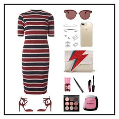 """Untitled #6"" by aibibby on Polyvore featuring Dorothy Perkins, Gianvito Rossi, Sarah's Bag, Oliver Peoples, Eternally Haute, Anne Sisteron, Anita Ko, Benefit, Charlotte Russe and MAC Cosmetics"