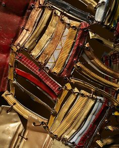 Between Earth and Heaven- detail, El Anatsui