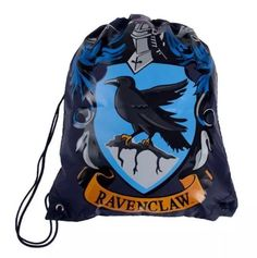 Universal Studios Harry Potter Drawstring Ravenclaw Backpack New With Tags  | eBay