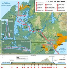 Traversée du Canal de Panama | Croisière Tour du monde Préparatifs, Infos, Escales, Excursions, Forums…