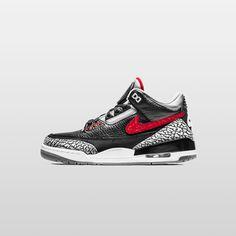 official photos 4a938 e1eea 37 meilleures images du tableau Jordan 3 black cement   Jordan 3 ...