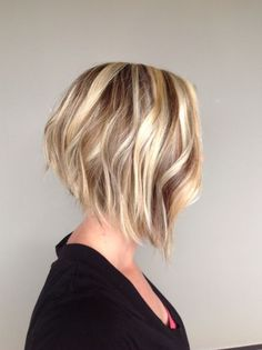 Short Angled Bob Haircuts #WomenHaircutsBob