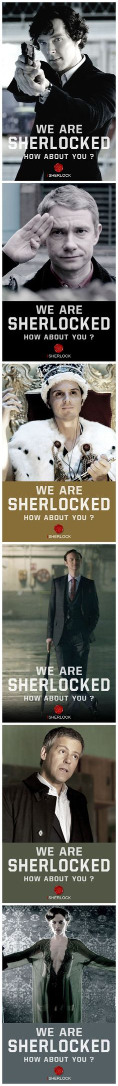 We are Sherlocked