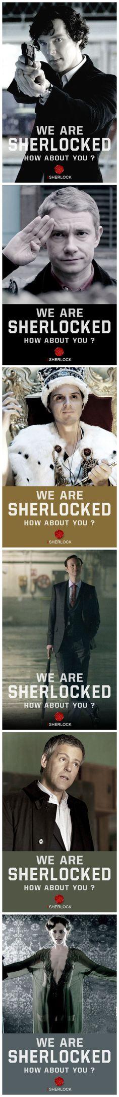 Sherlocked!!  via http://weibo.com/wearesherlocked