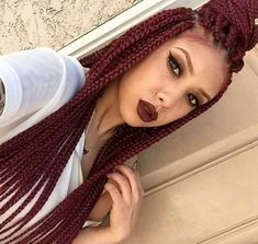 Gorgeous braids by @braidsbytye_ - https://blackhairinformation.com/hairstyle-gallery/gorgeous-braids-braidsbytye_/