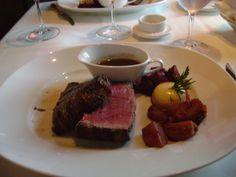 Chateaubriand at Le Cirque on the MS Westerdam!