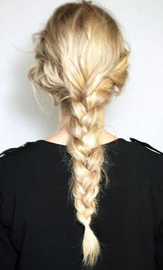 thick braid