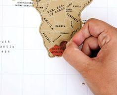 Scratch Map Rubbel Weltkarte – Die Landkarte zum Freirubbeln für Globetrotter
